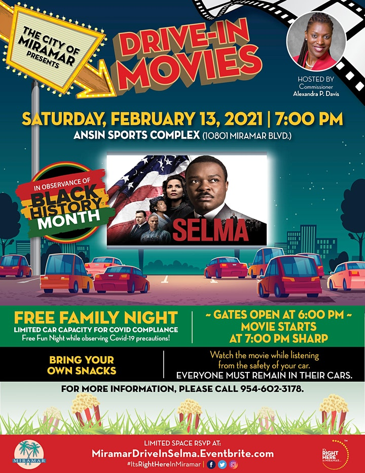 Drive-In Movies in the Park: SELMA image