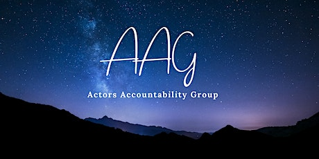 AAG - Actors Accountability Group tickets