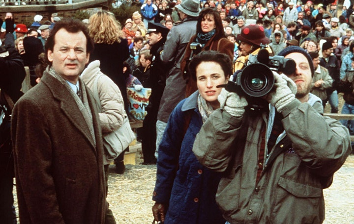 Starlite Drive In Movies - GROUNDHOG DAY image