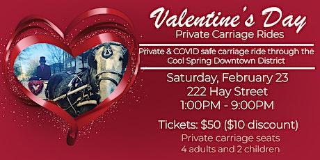 Valentine's Day Carriage Rides tickets