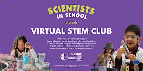 STEM Club - Virtual 4-week program with Scientists in School - Winter Dates tickets