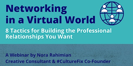 Networking in a Virtual World: Tactics & Strategies that Work tickets