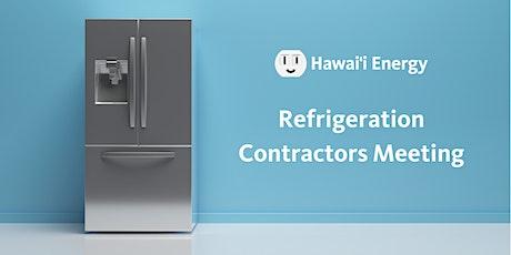 Refrigeration Contractors Meeting tickets