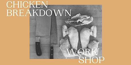 Chicken Breakdown Workshop tickets