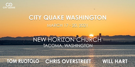 City Quake Washington with Tom Ruotolo, Chris Overstreet and Will Hart tickets