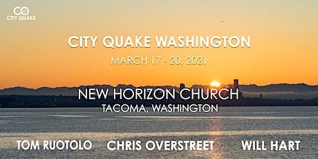 City Quake Washington with Tom Ruotolo, Chris Overstreet and Will Hart tickets