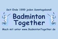 www.BadmintonTogether.de - Team Robert logo