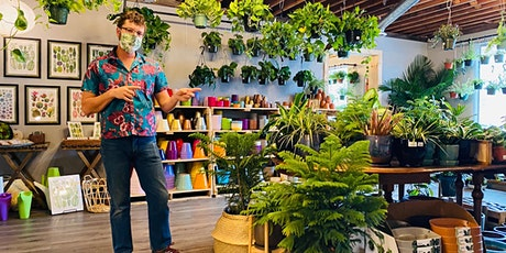 Advanced Houseplant Botany at Little Eden Plantscaping tickets