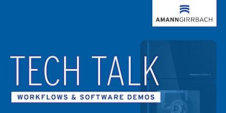 Tech Talk with Amann Girrbach - Product Portfolio & Matik Live tickets
