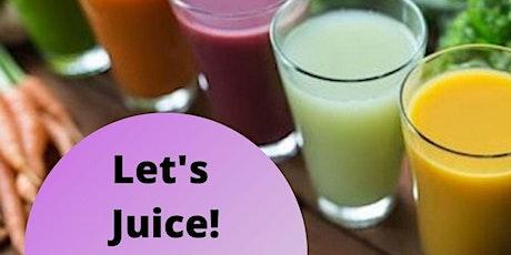 Let's Juice tickets
