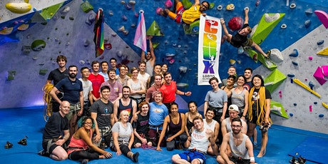 CRUX LGBTQ Climbing - First Friday New Climber Night @thecliffslic tickets