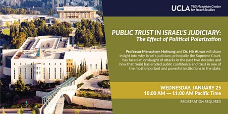 Public Trust in Israel's Judiciary: The Effect of Political Polarization tickets