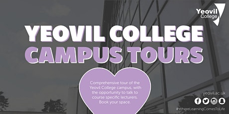 Yeovil College Campus Tours tickets