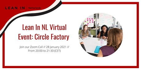 Lean In NL event: Virtual Circle Factory tickets