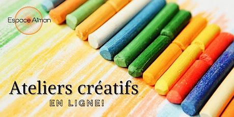 Ateliers créatifs : écriture, gribouillis et collage billets