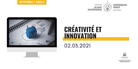 CEE: Créativité et innovation billets