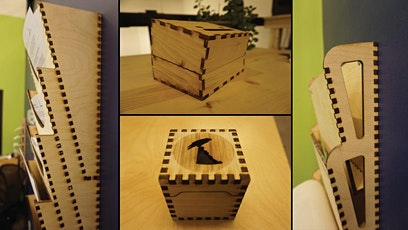Laser Cutting for Beginners: Box Joints! tickets