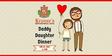 Daddy Daughter Dinner 2/12/21 tickets