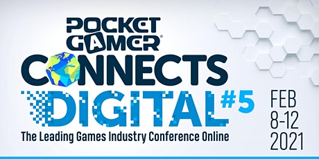 Pocket Gamer Connects Digital #5 tickets