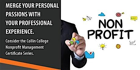 INFO SESSION: Nonprofit Management (Online via Zoom) tickets