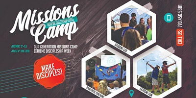 Our Generation Extreme Camp | July 19th – 23rd