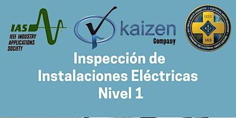 Inspecciones de Instalaciones Eléctricas - Nivel 1 entradas