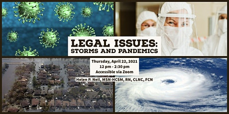 Legal Issues: Storms and Pandemics tickets