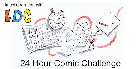 24 Hour Comic Challenge tickets