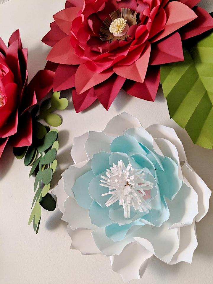 DIY Paper Flower Workshop image