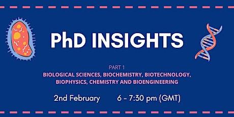 PhD Insights tickets