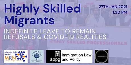 Discrimination and Destitution: The UK's Highly Skilled Migrants tickets