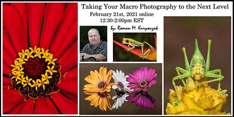 Capture Tack Sharp Macro Images - without a tripod! tickets