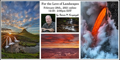 For the Love of Landscapes tickets