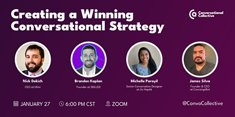 Creating a Winning Conversational Strategy tickets