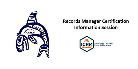 Records Management Certification Information Session tickets