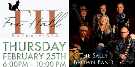 Thursday Night Live w/ The Sally Brown Band tickets