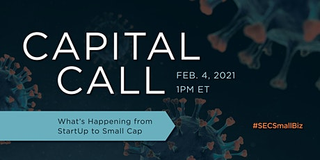 SEC Small Business Advocate: 2021 Capital Call tickets