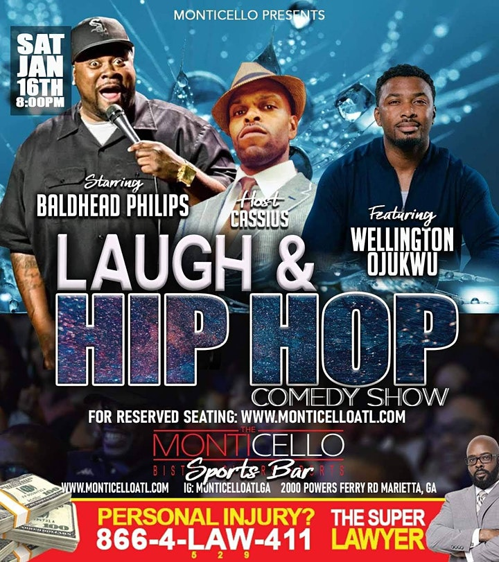 RSVP FOR THE HOTTEST COMEDY SHOW IN MONTICELLO'S SPORTS BAR image