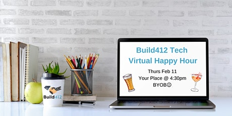 Pittsburgh Tech Happy Hour - Virtual 2/11 tickets