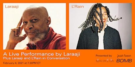 Laraaji and L'Rain Live Online tickets