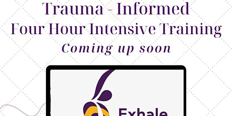 Trauma-Informed Intensive Training tickets