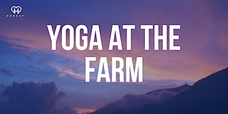 Yoga at the Farm tickets