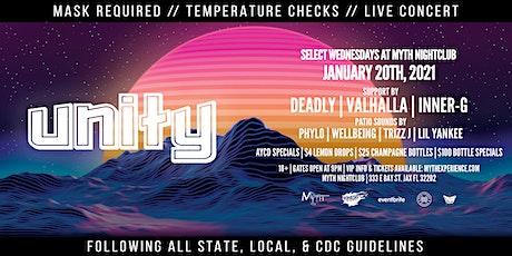 Unity Wednesdays at Myth Nightclub | Wednesday 1.20.21 tickets
