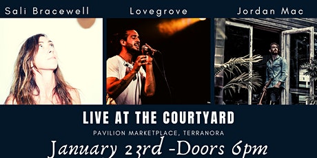 Live at The Courtyard-  Josh Lovegrove & Jordan Mac tickets