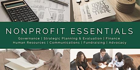 Nonprofit Essentials: Governance tickets