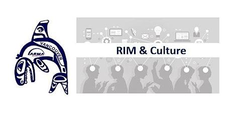RIM and Organizational Culture tickets