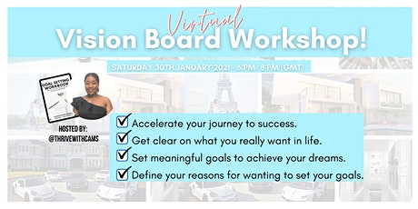 Vision Board Workshop with Thrive With Cams tickets