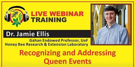 Live Webinar Training - Dr. Jamie Ellis - Gahan Endowed Professor for UoF tickets