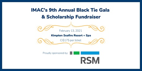 IMAC's 9th Annual Black Tie Gala & Scholarship Fundraiser tickets
