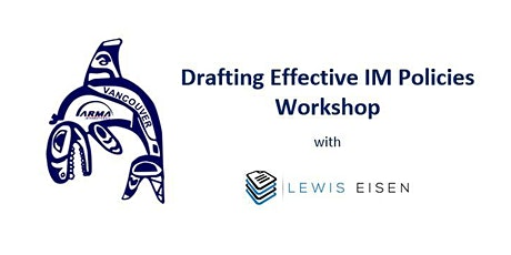 Drafting Effective Information Management Policies Workshop tickets